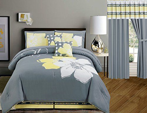 Robot Check Grey And White Bedding Yellow Bedding Sets Comforter Sets