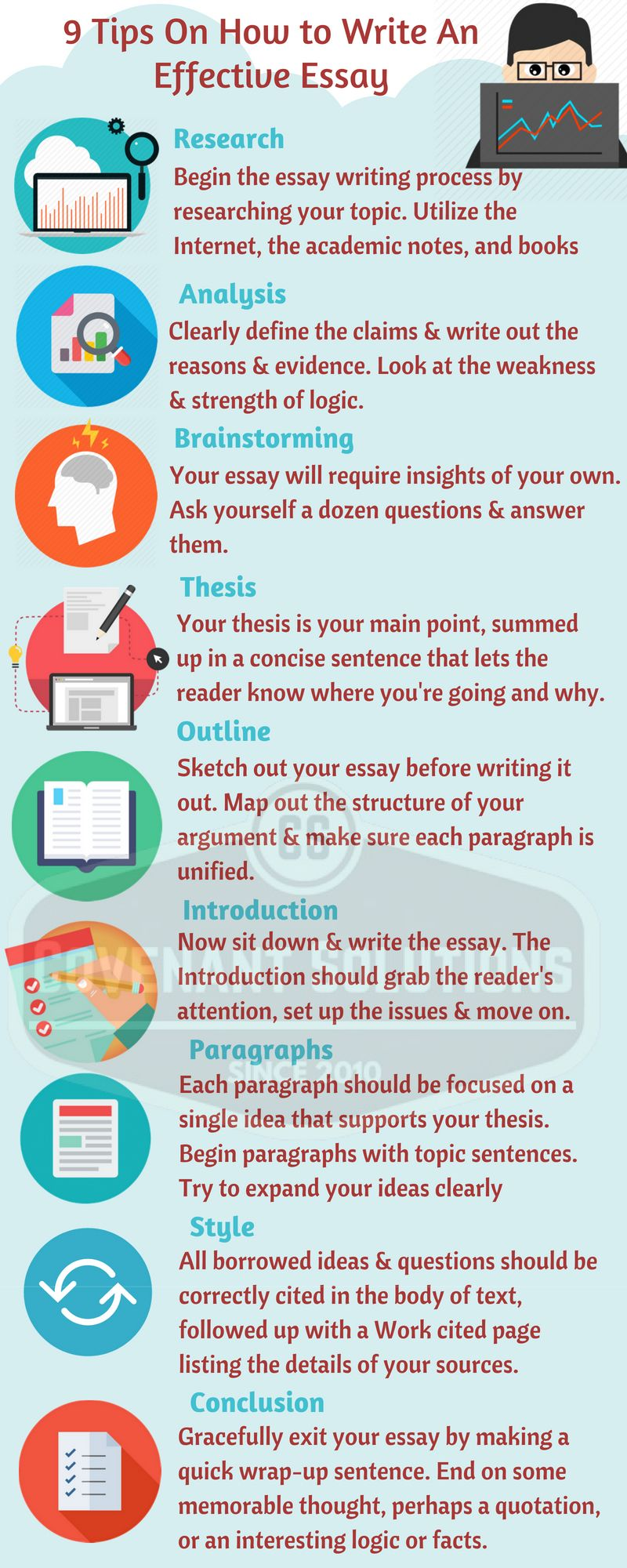 Tips on Writing an Effective Essay.  Essay writing, Dissertation