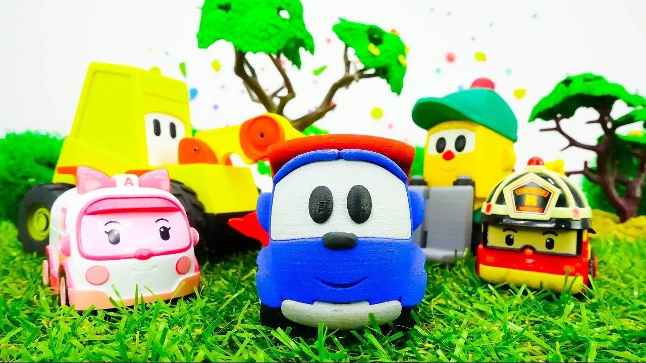 Spielzeugautos Leo Junior Lifty Und Max Der Bagger Rettungsoperation Festa Infantil Infantil Festa
