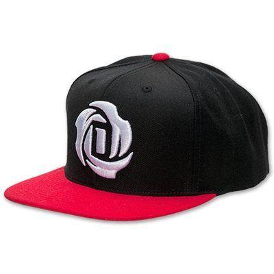 newest 9c127 0e231  adidas  DRose Snapback Hat - Black Red  27.95