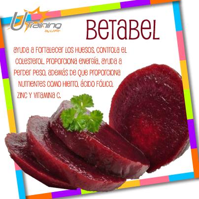 """La remolacha o mejor conocido como """"Betabel"""" tiene un alto contenido de Hierro que ayuda a prevenir la anemia."""