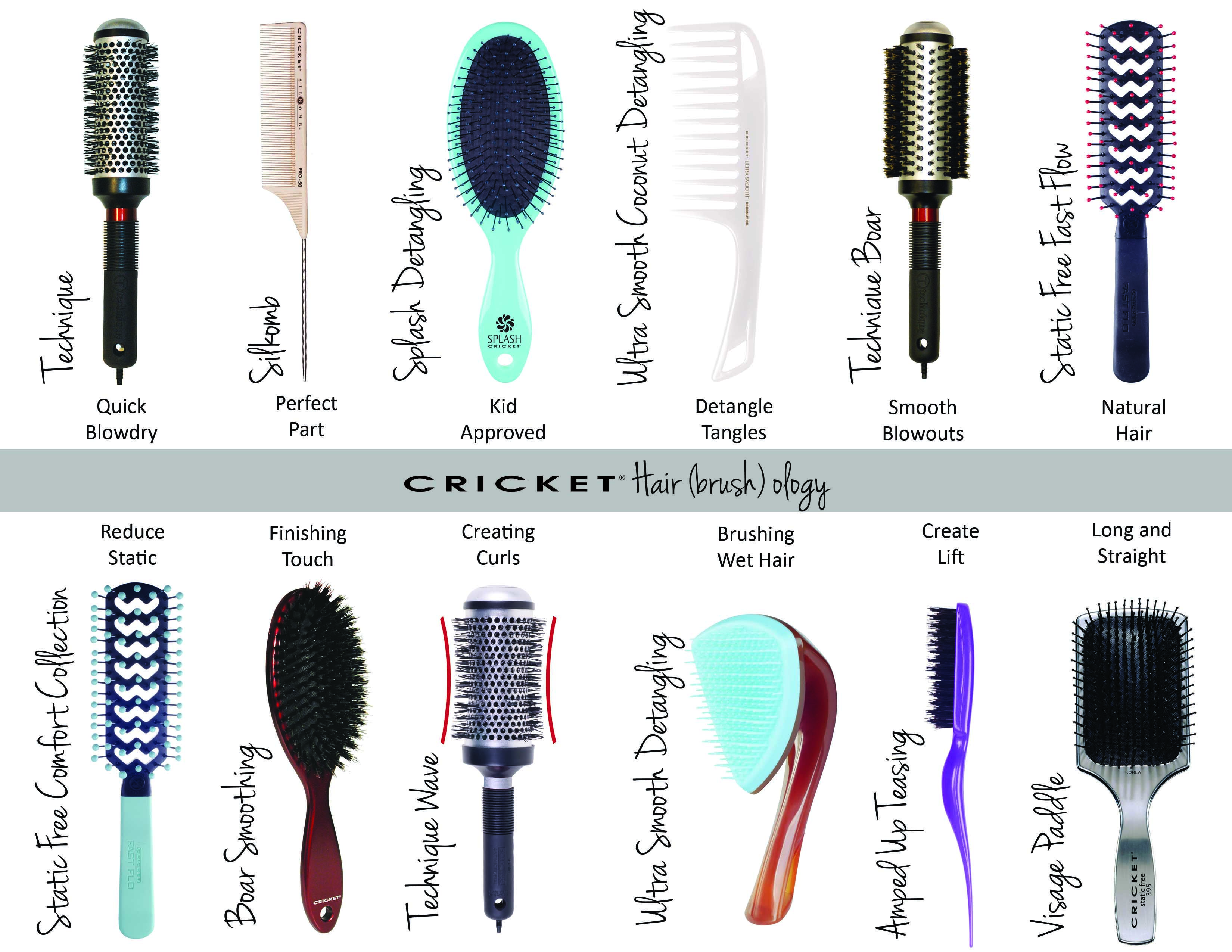 Cricket Hair Brush Ology A Guide For What Brush Is The Correct