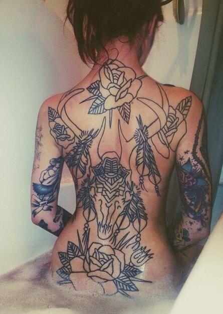Full Back Tattoo Back Tattoo Women Beautiful Back Tattoos Tattoos