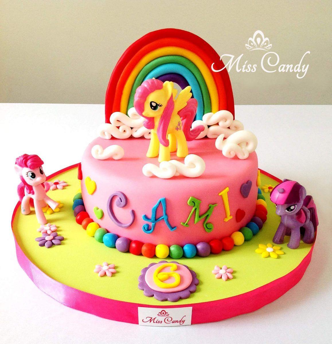 Resultado de imagen para pastel de cumplea os my little - Bizcocho cumpleanos para ninos ...