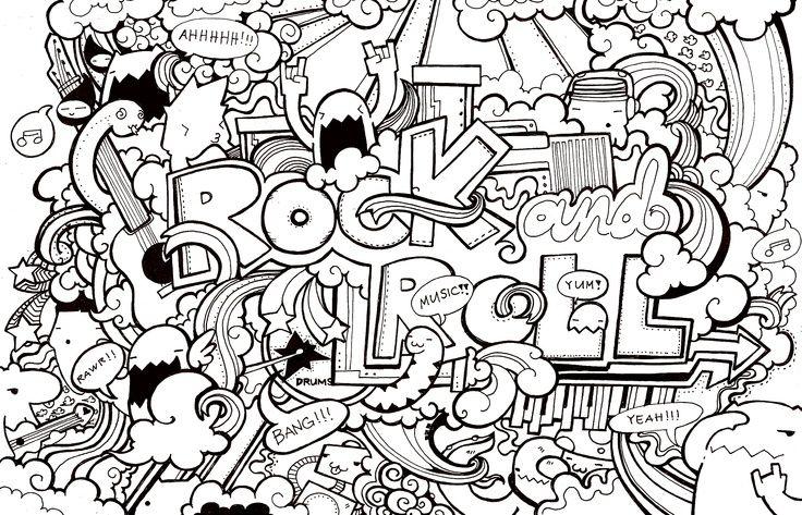 5cd103a08773d66a4cf2361a14c5e6ee Jpg 736 473 Adult Doodle Art