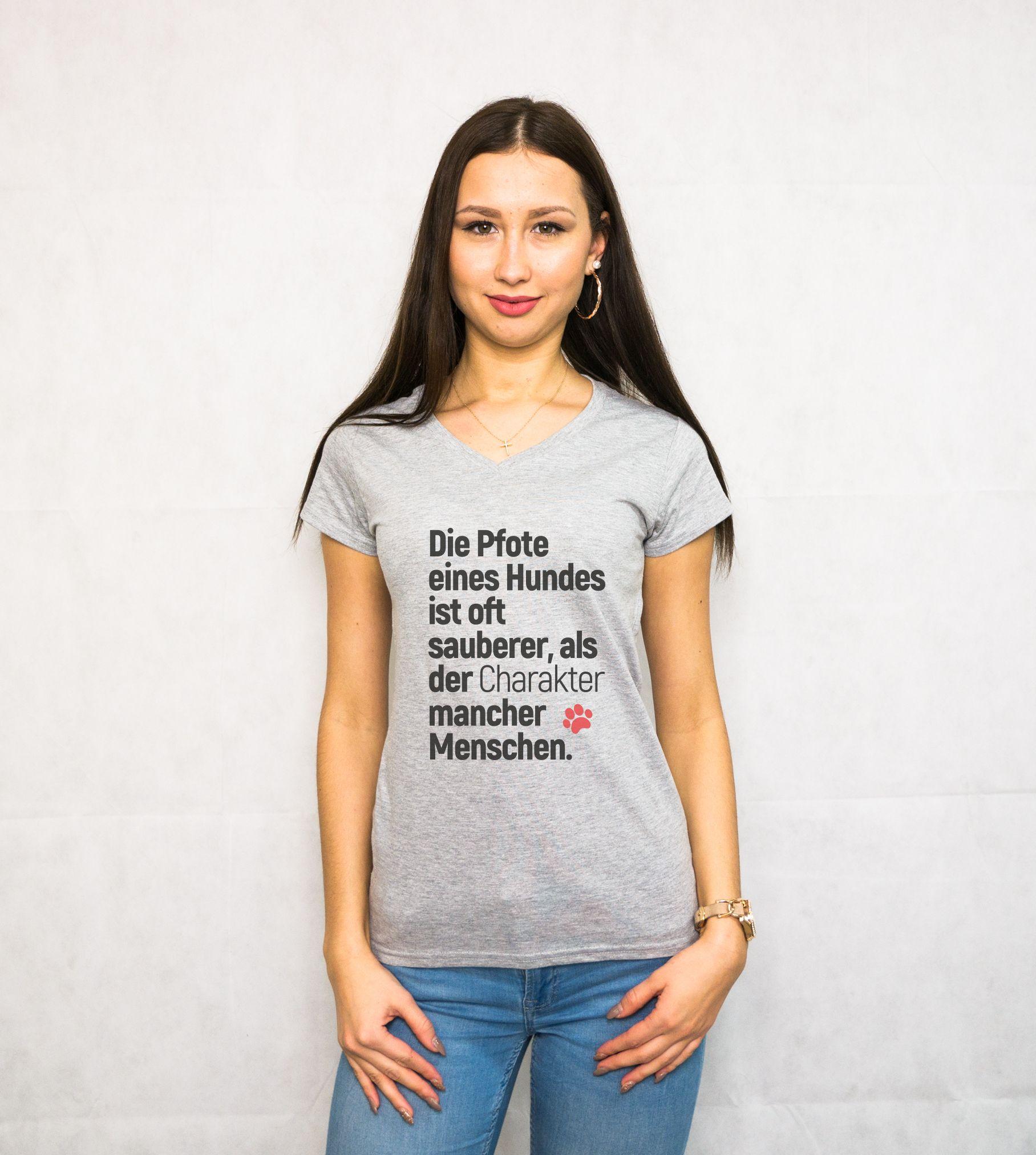new style d323c ae261 Der beste Freund des Menschen! Moderne Damen T-Shirts ...