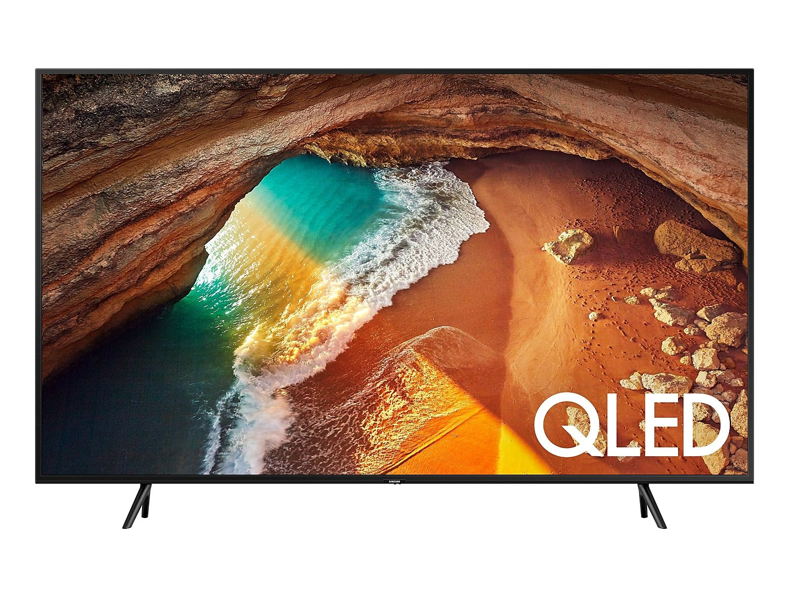 49 Class Q60r Qled Smart 4k Uhd Tv 2019 Samsung Smart Tv Smart Tv Samsung