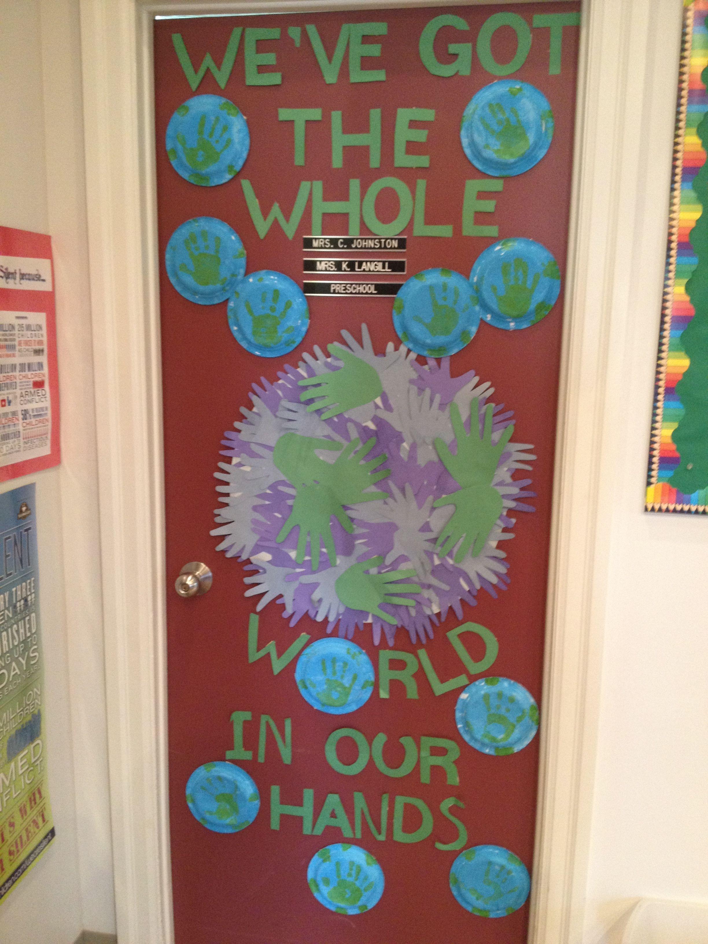 Pk Earth Day Door Decoration Classroom Redo Garden Theme