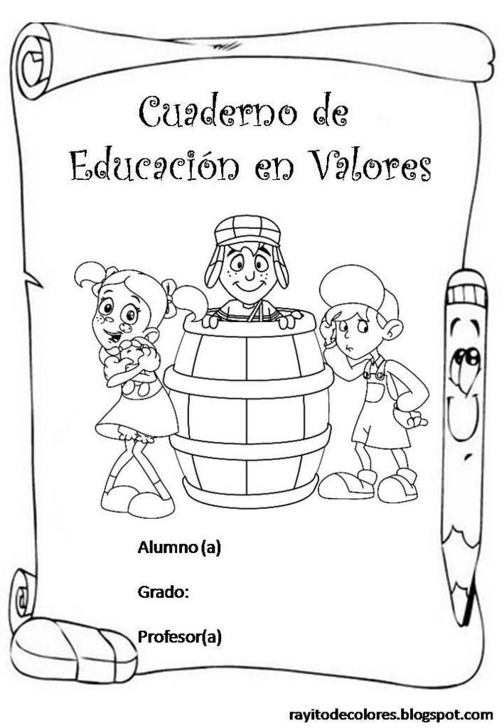 Modelos de Carátulas para Cuadernos (+ 50 Imágenes) Foros Ecuador ...