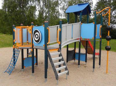 Otetaan hiekkalelut mukaan!: Tuulaspuiston leikkipaikka