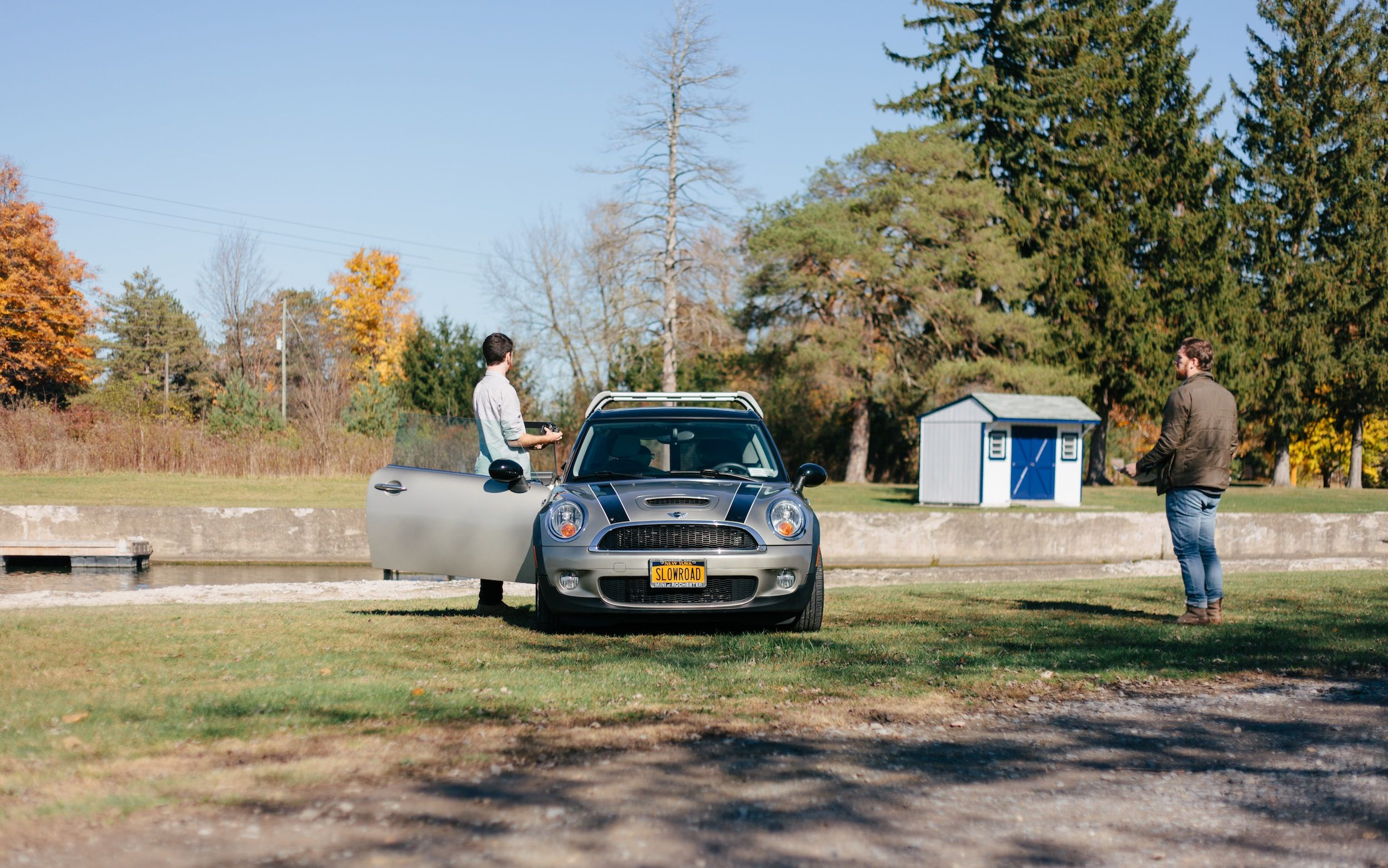 MINI Clubman finds a favourite destination off the beaten track.