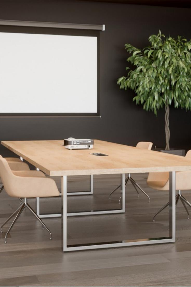 Grande Table De Reunion Design En Bois Decoration Bureau Table De Reunion Table De Conference
