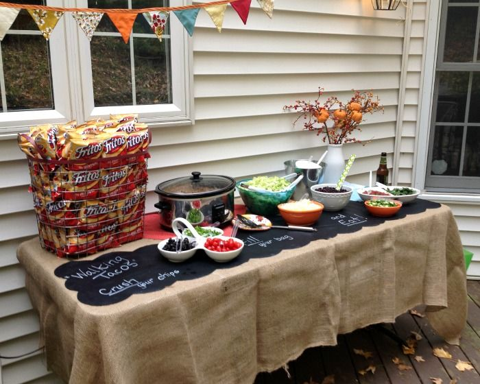 Host an Outdoor Fall Party that makes Kids and Adults Smile | Olive Jude