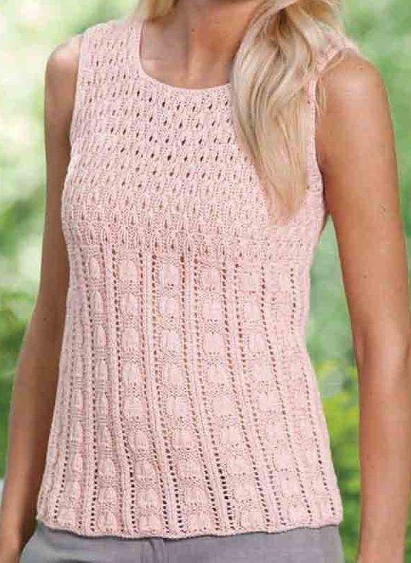 Sleeveless Tops Knitting Patterns Top Knitting Patterns Many