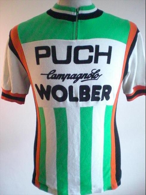 Puch Wolber 1981 Bicycle Jerseys eb61901e1