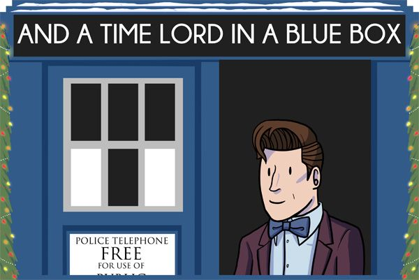 dorkly:  The 12 Days of Doctor Who [Click throughfor a holiday surprise!]