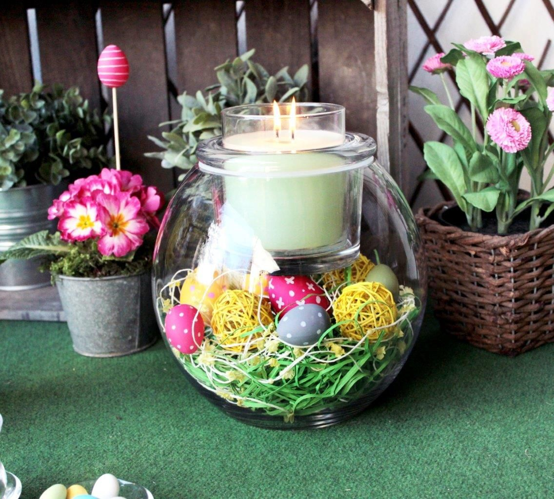 Partylite clearly creative diy easter decorations www for Partylite dekoration