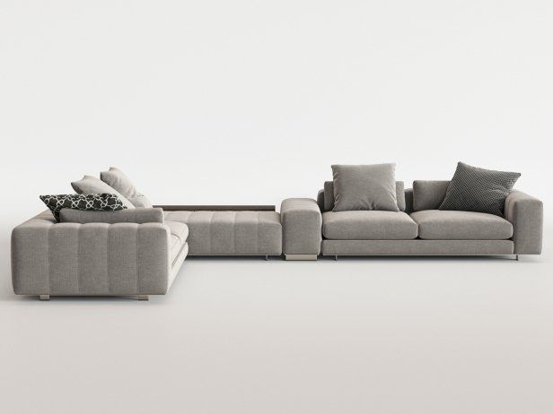 Freeman Corner Sofa System C 3d Model By Design Connected