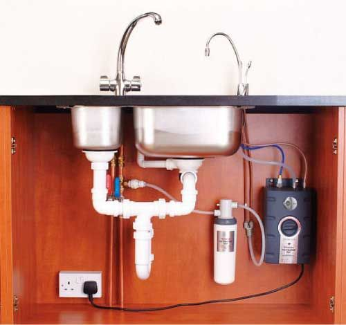 InSinkErator Instant Hot Water Dispenser And Water Filtration System. Think  Of All The Wasted Water You Save!