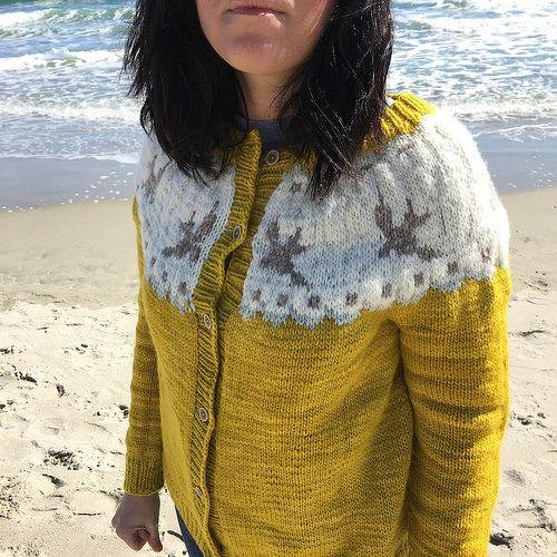 Birdie Fair Isle Cardigan by Hannah Fettig, knitted by jrwolf ...