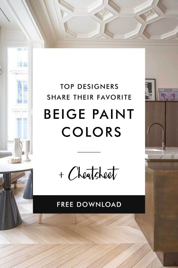 top designers share their favorite beige paint colors on popular designer paint colors id=81467
