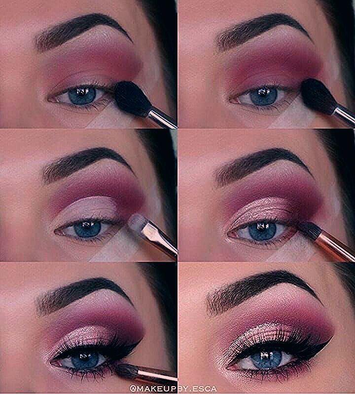 Photo of Eye makeup tutorial Plum, purple, flick, blue eyes – My Blog