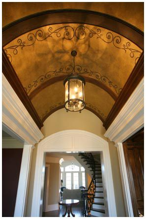 Gallery Kandrac Kole Barrel Ceiling Ceiling Design Painted Ceiling