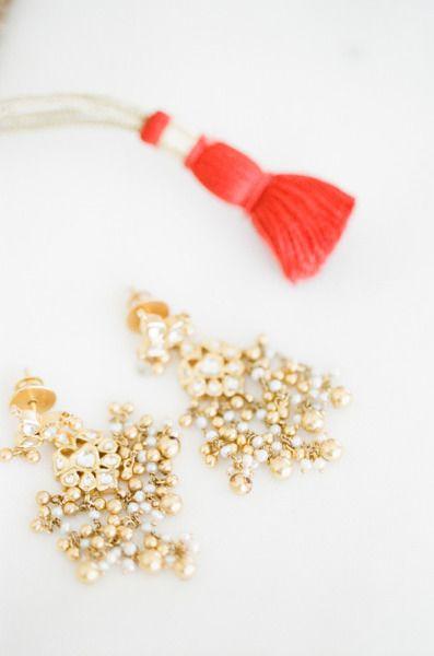 Earrings! via Style Me Pretty | Gallery