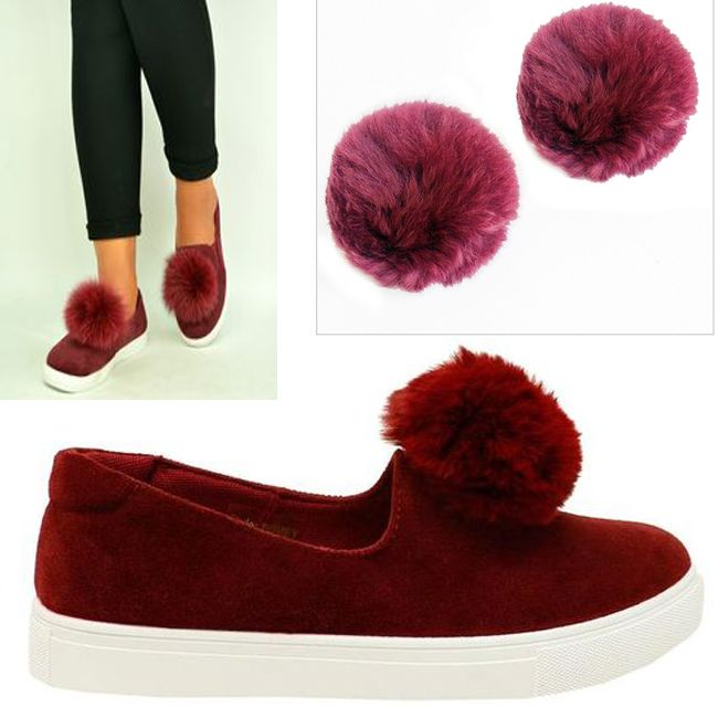 Be creative with your Flats, Heels, Trainers etc and transform their look with our Burgandy Pom Pom Shoe Clips. http://www.secretfashionfixes.ie/p/furla-pom-pom-shoe-clip-burgandy/furlabur