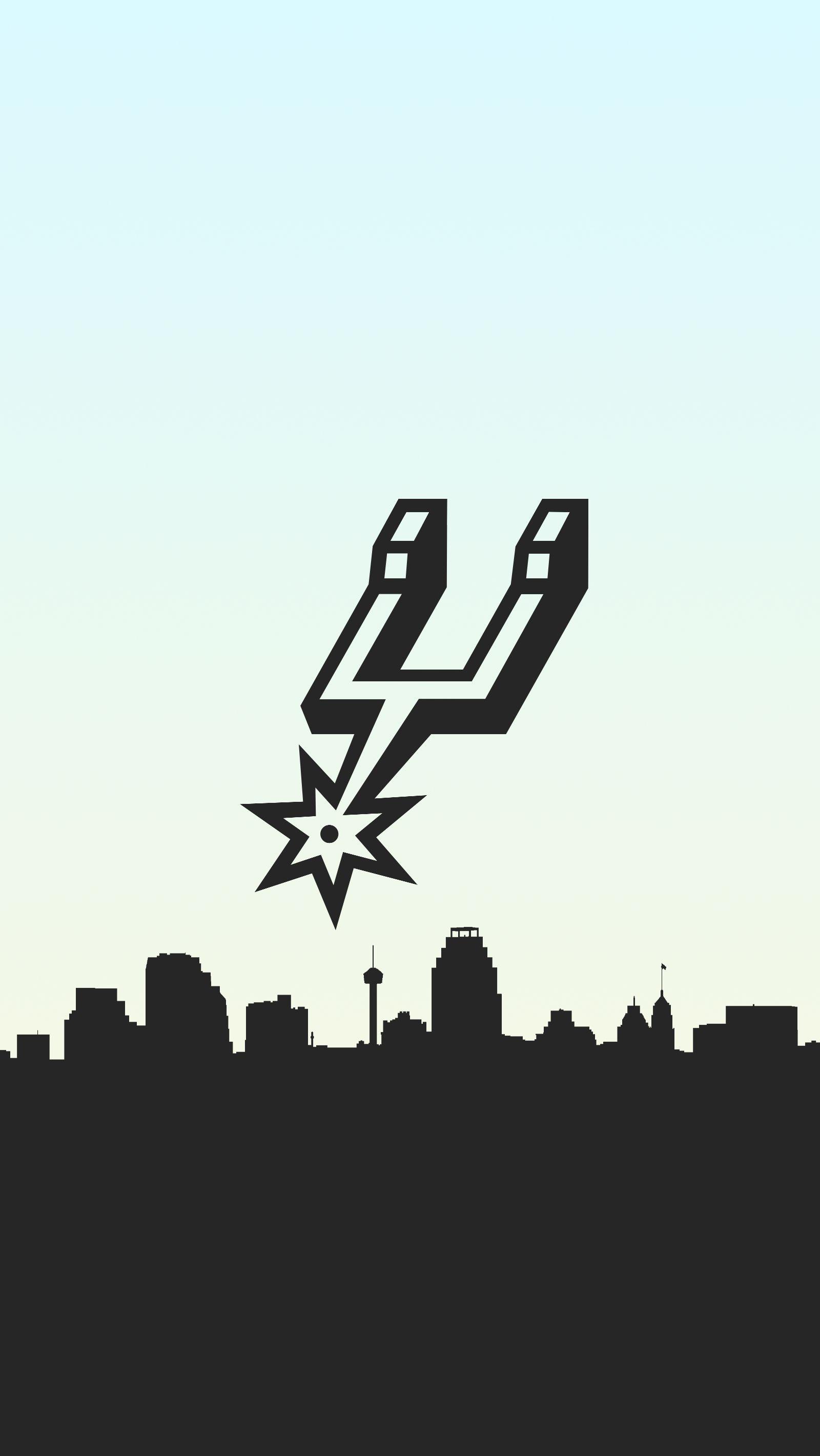 San Antonio Spurs Basketball Phone Background San Antonio Spurs Basketball San Antonio Spurs Logo Spurs Logo