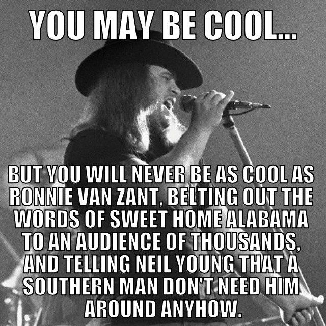 Ronnie Van Zant Quotes Image12 640×640  Lynyrd Skynyrd 1970S  Pinterest  Ronnie