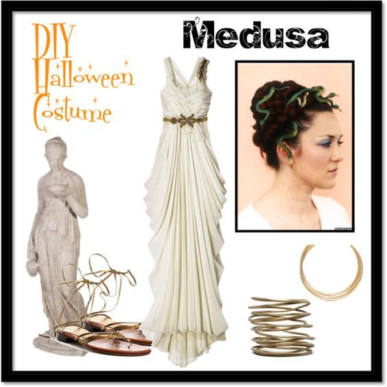 Medusa Costume On Pinterest Costumes Halloween Costumes