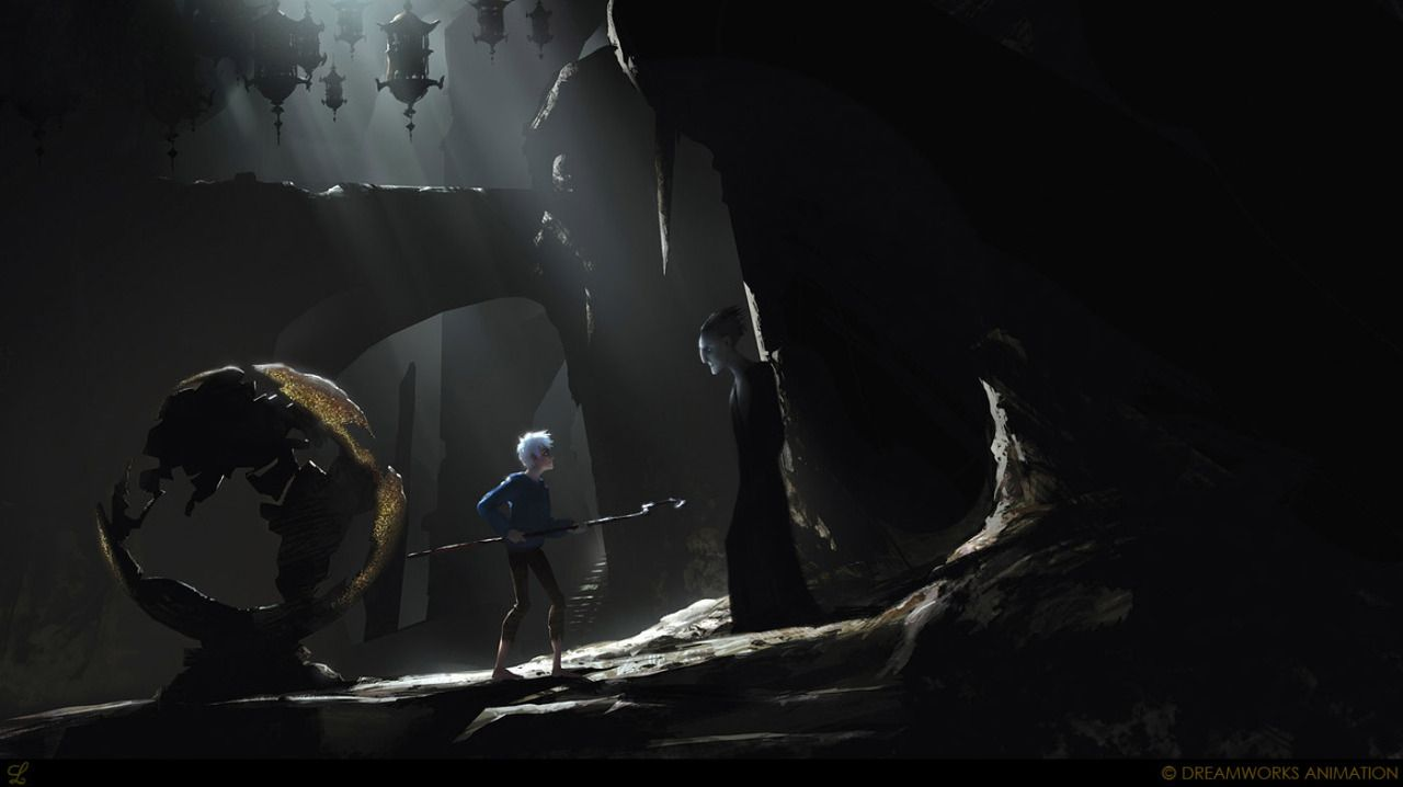 Concept Art Of Rise of the Guardians And Happy Anniversary!