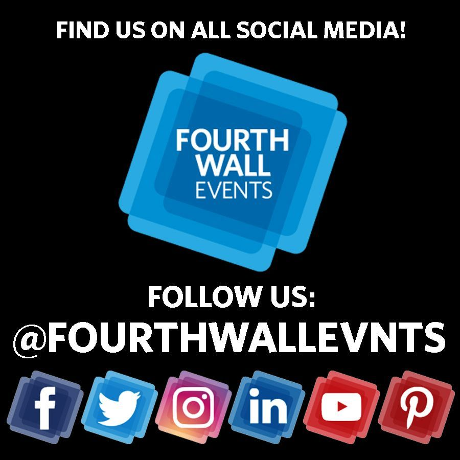 We Re Now On All Social Media Find Us On Facebook Twitter Instagram Linkedin Youtube Follow Us There And Check Out Social Media Event Fourth Wall