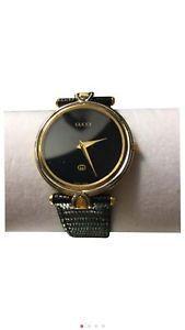Vintage Gucci Gold Plated Quartz Midsize Watch