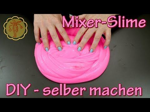 Slime Mixer Slime Mit Dem Handmixer Selber Machen Diy Fluffy