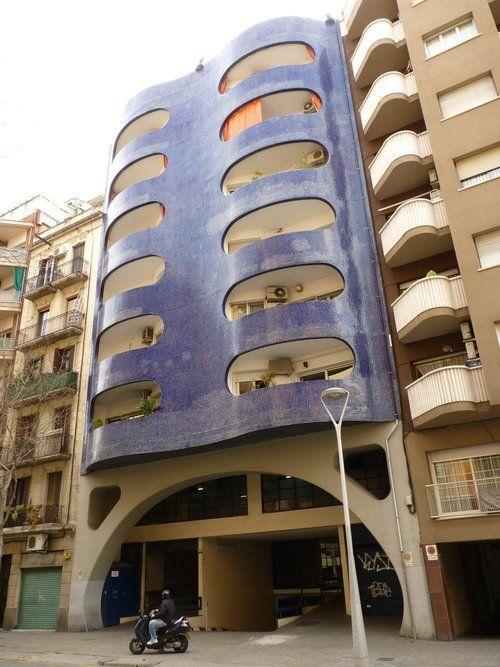 Edificio de oficinas,Architect: Mario Catalán Nebot.Barcelona, Spain