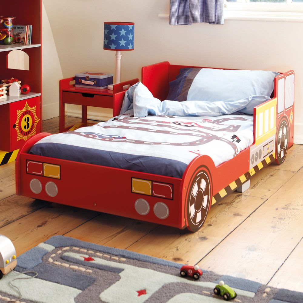 Toddler Bed Offers: Fire Engine Toddler Bed