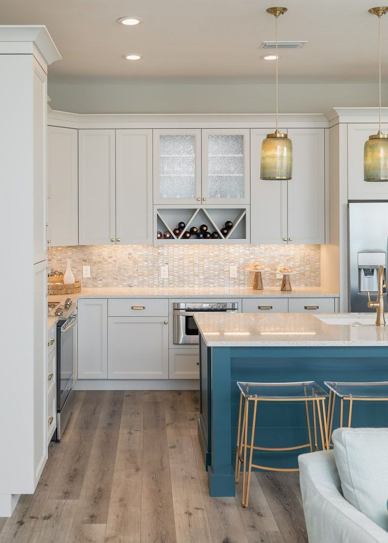 Beach House Redo Coastal Design Makeover Done Right In 2020 Coastal Kitchen Design Beautiful Kitchen Cabinets Kitchen Inspirations