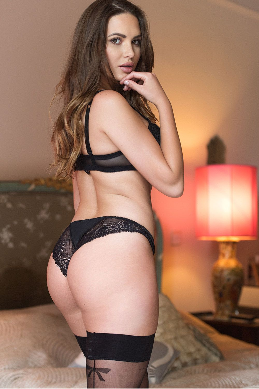 Sabine Jemeljanova Stunning In Black For Page 3 Your Daily Girl 002