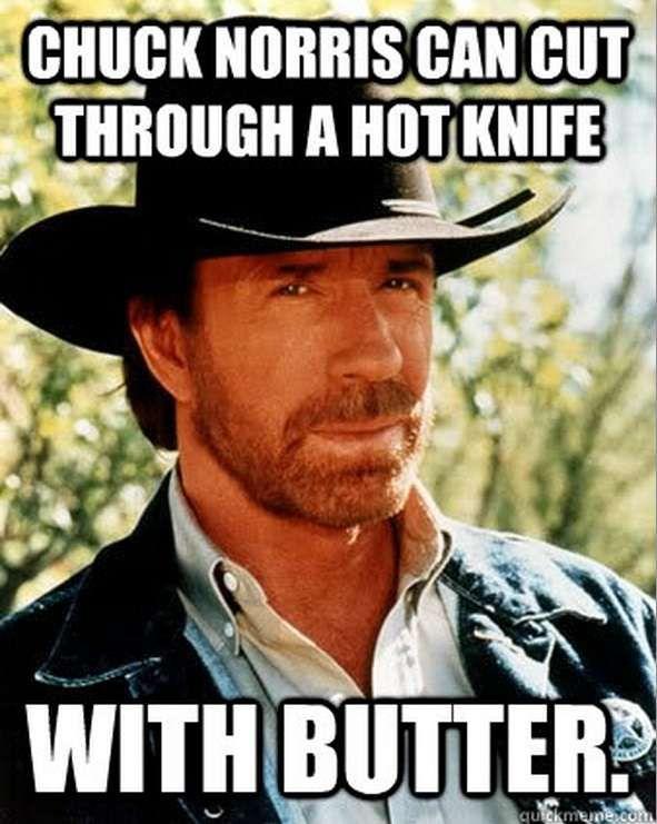 Chuck Norris He Just Can The Chuck Pinterest Chuck