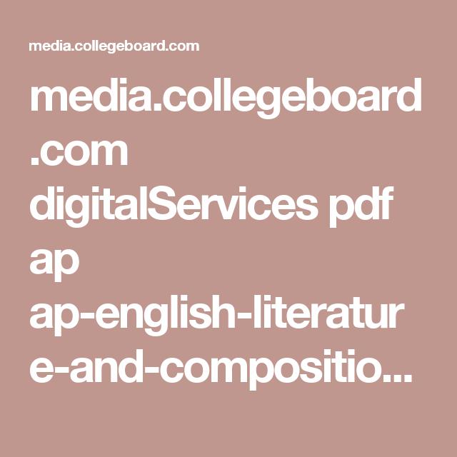 media.collegeboard.com digitalServices pdf ap ap-english-literature ...
