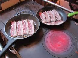 koken op Leuvense kachel