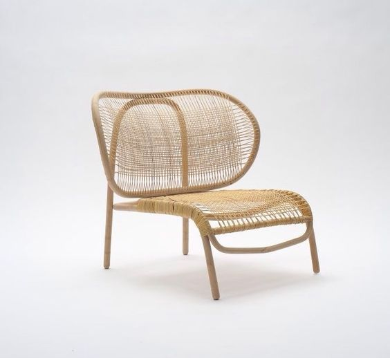 U201cDumbou201d Rattan Chair Designed By Morten Husum Nielsen For Sika Design
