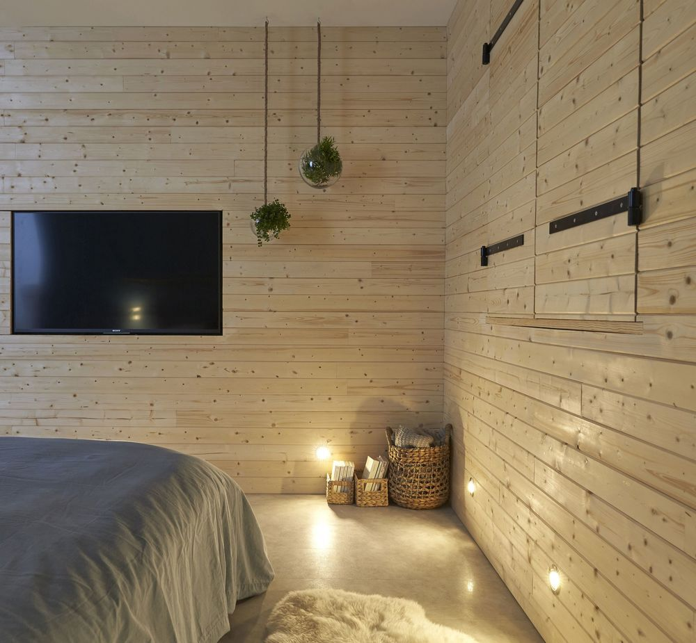 Bardage intérieur pour chambre cocooning