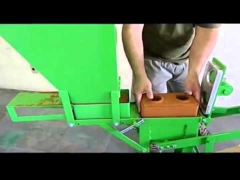 Como Hacer Maquina O Prensa Manual De Ladrillos Ecologicos Mexico 2 0 Youtube Interlocking Bricks Concrete Building Blocks Youtube