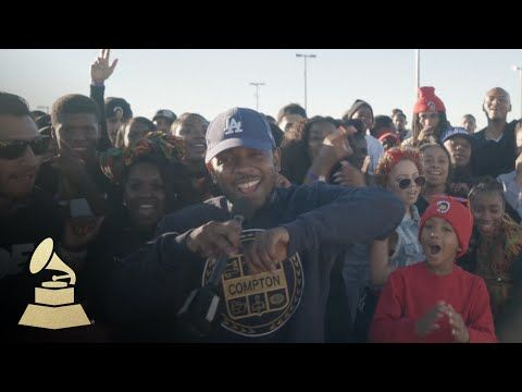 Kendrick Lamar Turns Up In Compton For The Grammys Witness