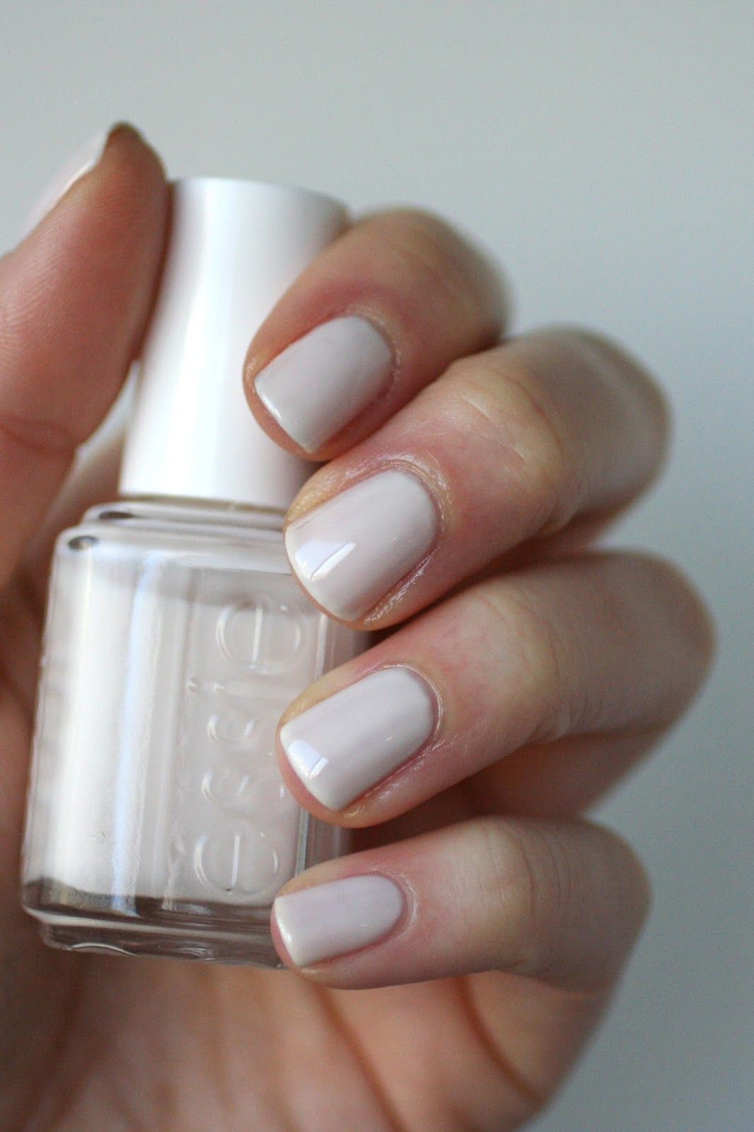Essie Tuck It In My Tux - silky ivory #nail polish / lacquer ...