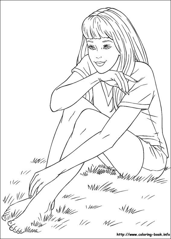 Barbie Coloring Picture Barbie Coloring Pages Barbie Coloring Coloring Pages