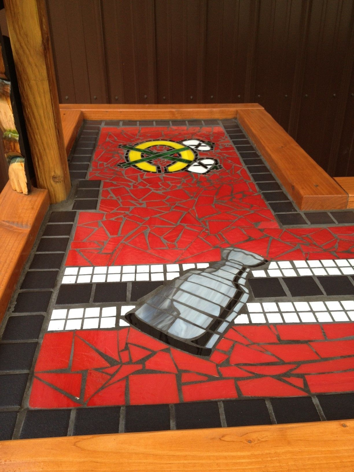Hockey Bedroom Decor Canada: Chicago Blackhawks Tiki Bar